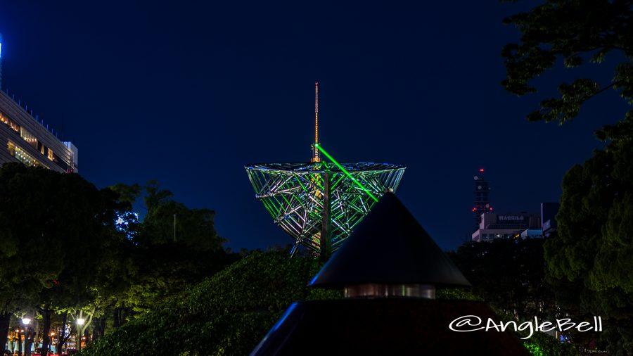 ゴールデンウィーク レーザー光線と名古屋テレビ塔