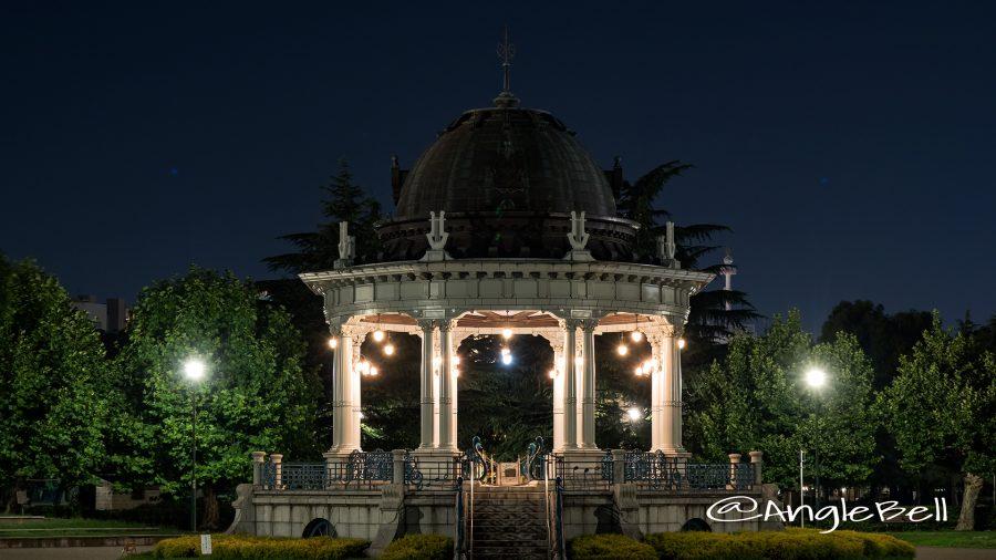 夜景 鶴舞公園奏楽堂
