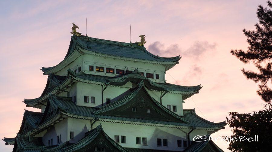 夕景 名古屋城夏まつり2017