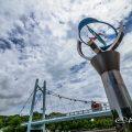 熱田記念橋と風の環 Summer 2017