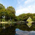 名城公園北園 せせらぎ亭前風景