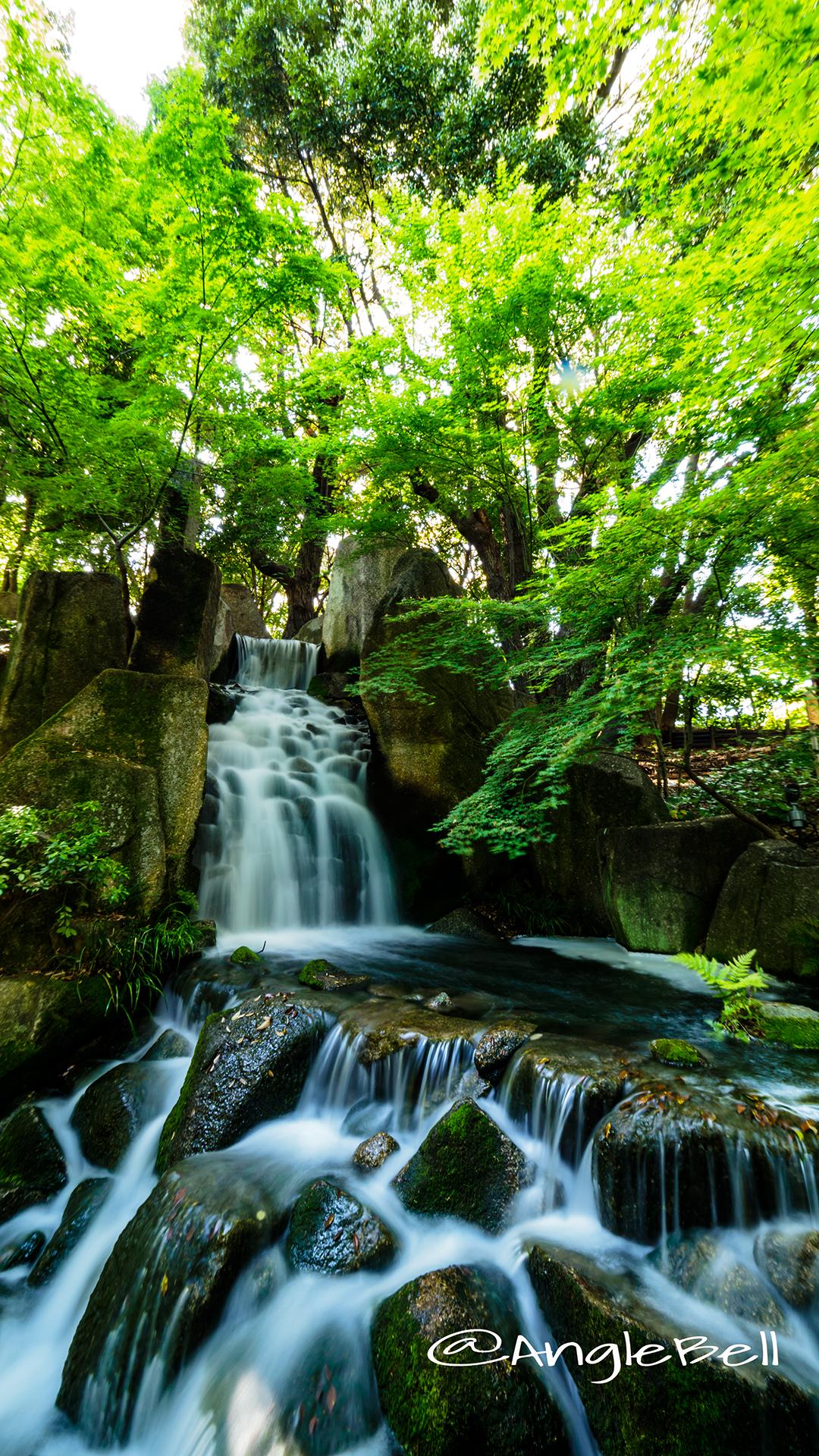 徳川園 渓谷散策路 大曽根の瀧