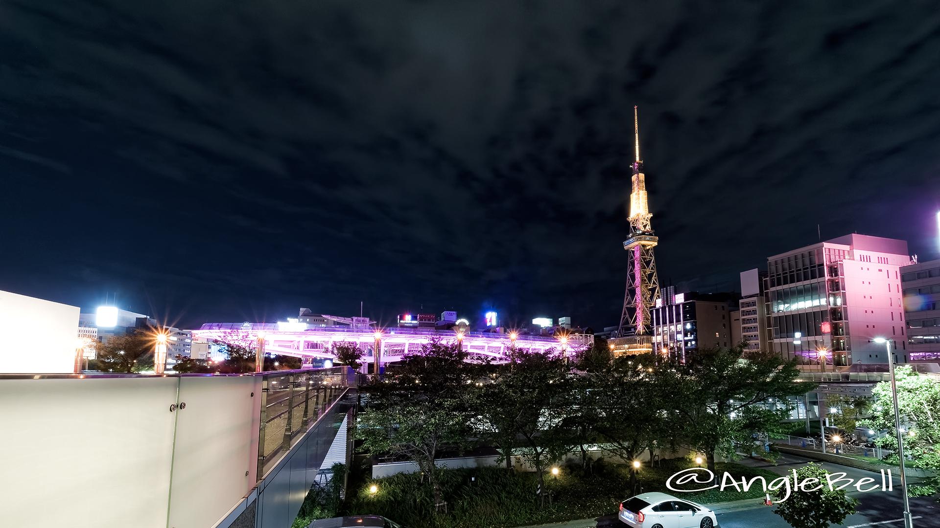 October オアシス21 名古屋テレビ塔 ピンクライトアップ