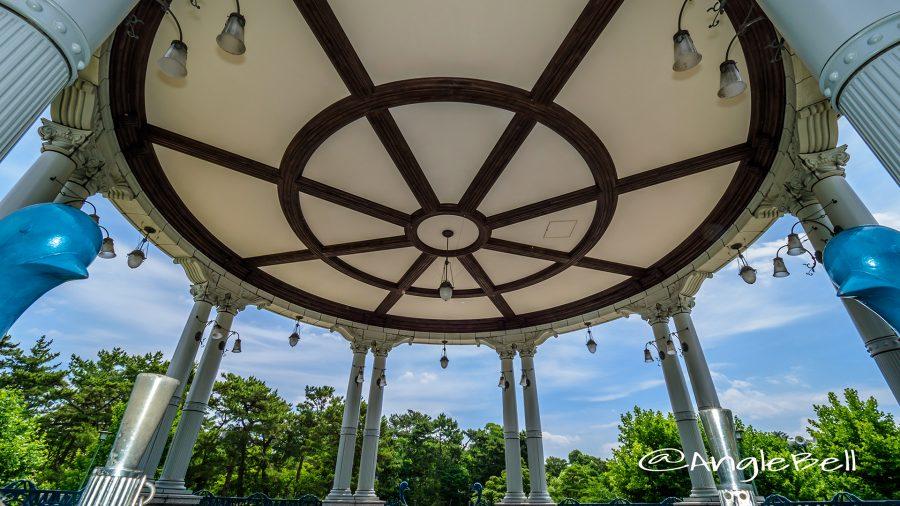 鶴舞公園内 奏楽堂 内部天井造作