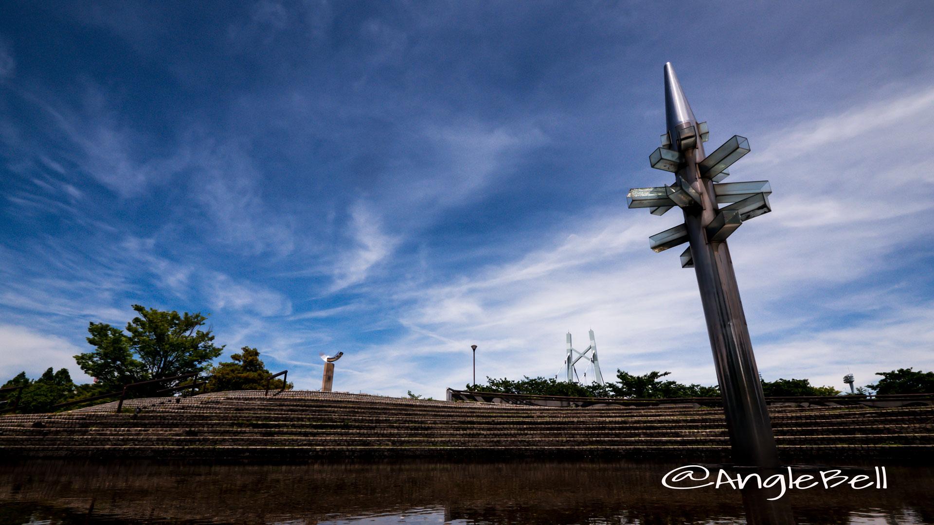 名古屋市熱田区 白鳥公園 橋詰広場