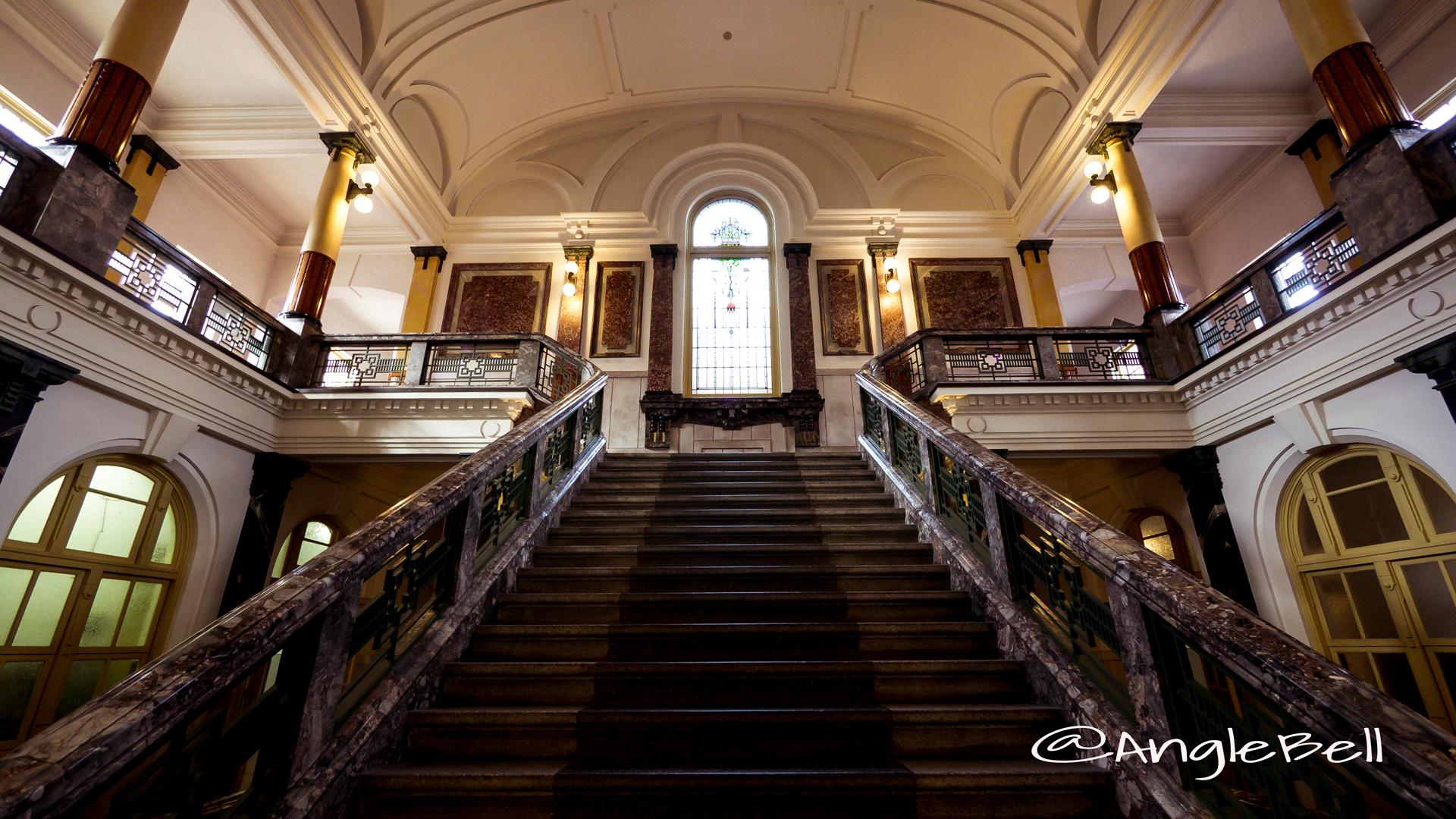 名古屋市市政資料館 中央階段室