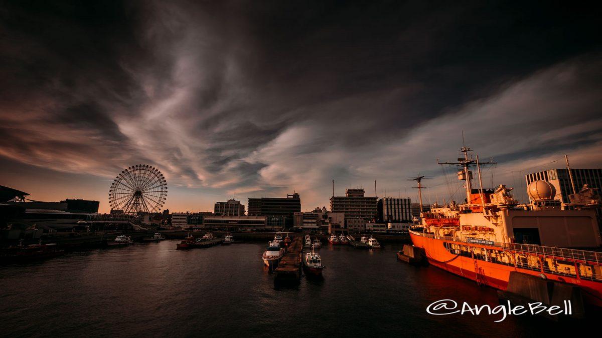 名古屋港 ポートブリッジから見るJETTY