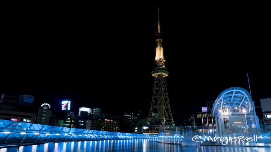 オアシス21 「水の宇宙船」と名古屋テレビ塔