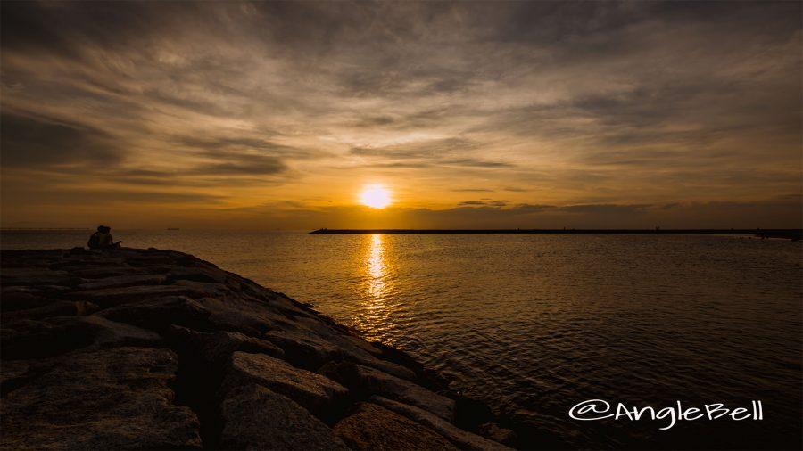 Sunset Tokoname Rinku Beach