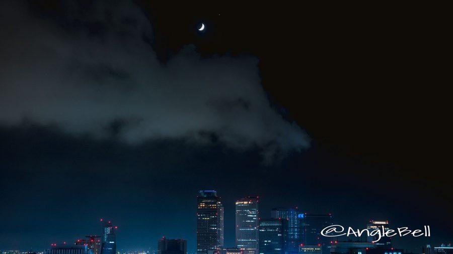 名古屋テレビ塔から見る 西の宵