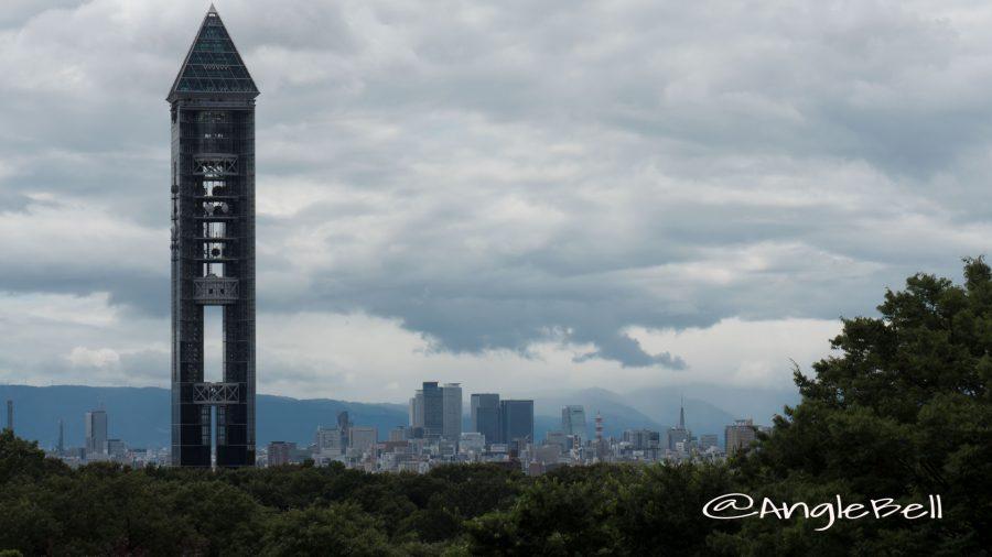 東山スカイタワーと名古屋駅方面