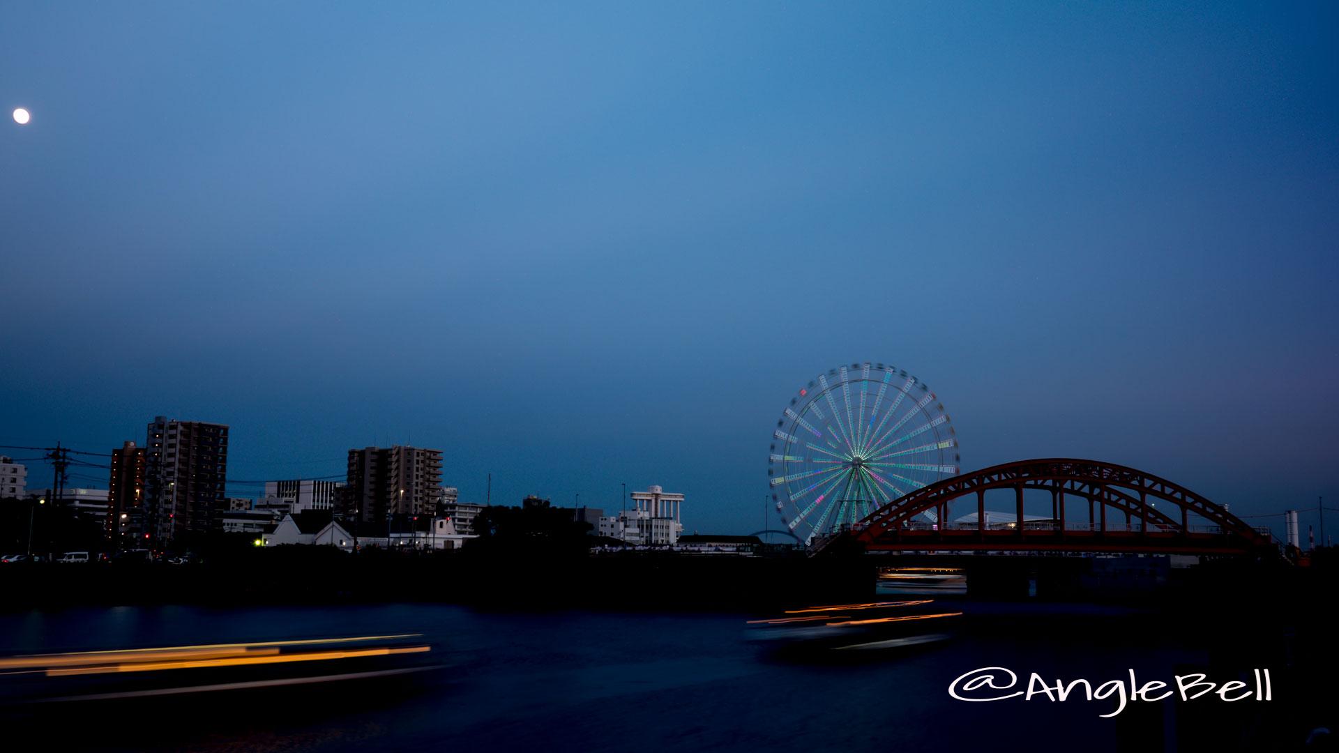 中川運河 水景と中川橋