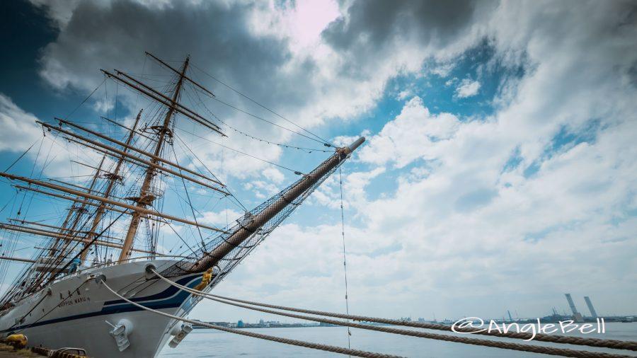 名古屋港 寄港 帆船「日本丸」2016