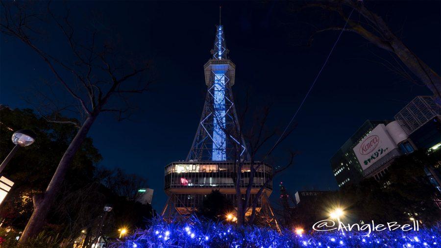 NAGOYAアカリナイトと名古屋テレビ塔