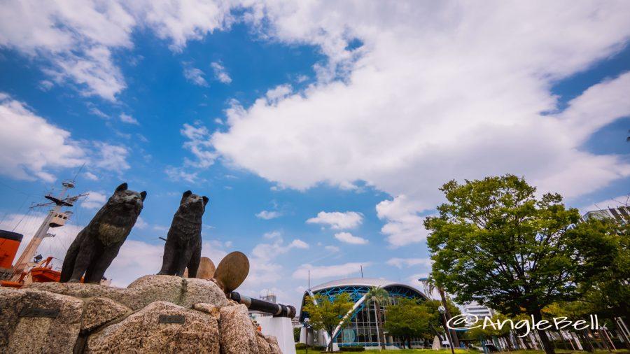 名古屋港ガーデンふ頭 南極犬タロ・ジロ
