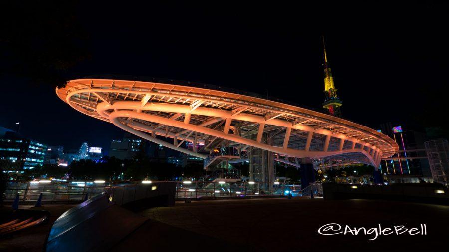 水の宇宙船 Oasis 21 「Orange Lighting」