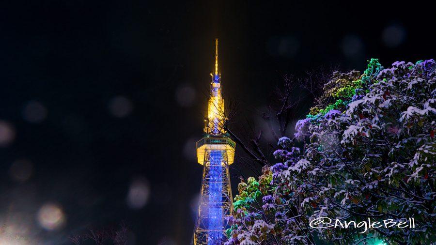 名古屋テレビ塔とアカリナイト