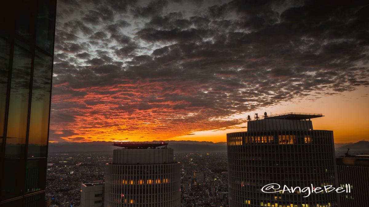 ミッドランドスクエア から見た夕景と町並み