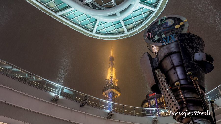オアシス21 無限の時計と名古屋テレビ塔