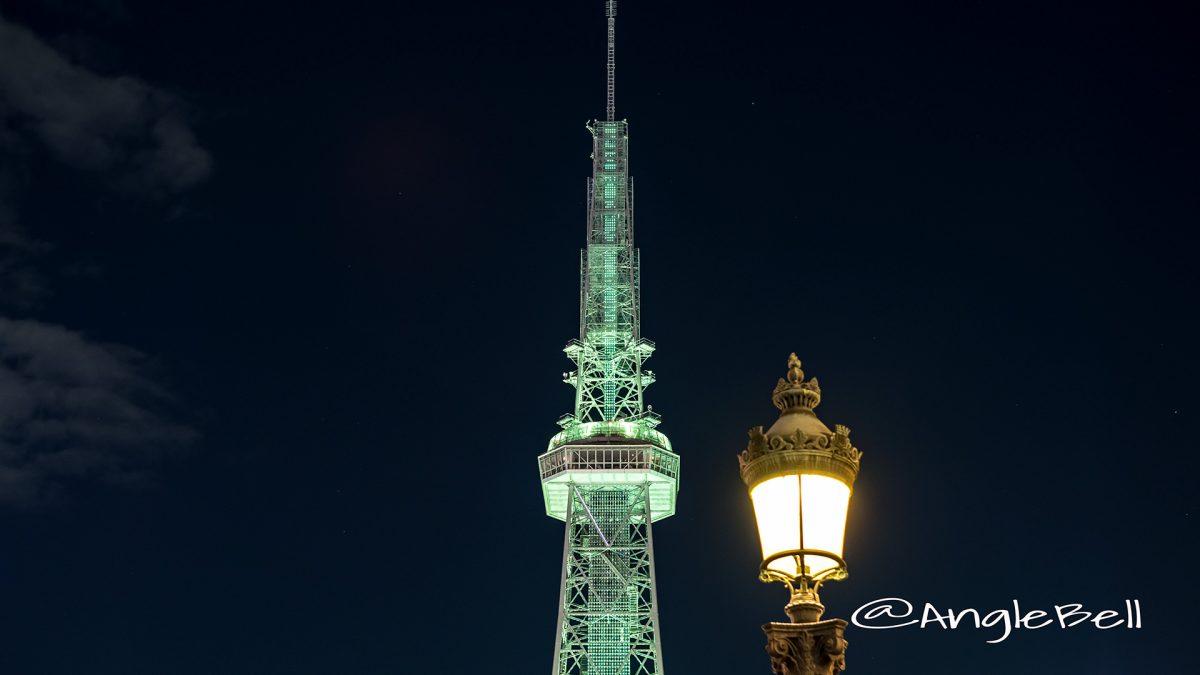 名古屋テレビ塔 グリーンライティング 記念街灯
