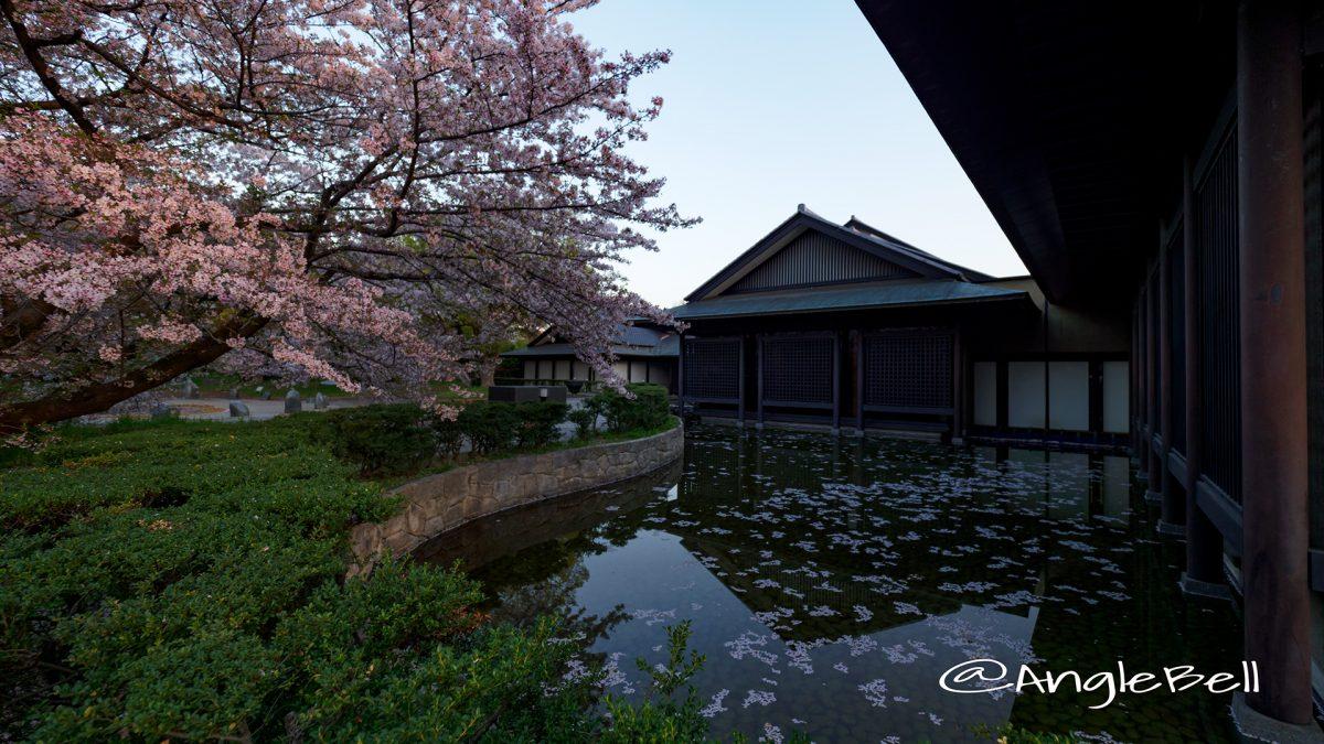 名古屋能楽堂中庭と彫刻の庭 水広場