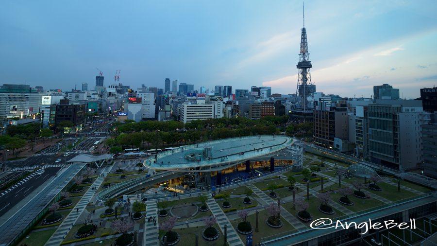 愛知芸術文化センター 11F展望回廊から見る名古屋市景観