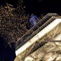 名古屋テレビ塔 桜と月