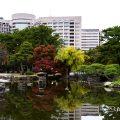 鶴舞公園 中ノ島と鈴菜橋