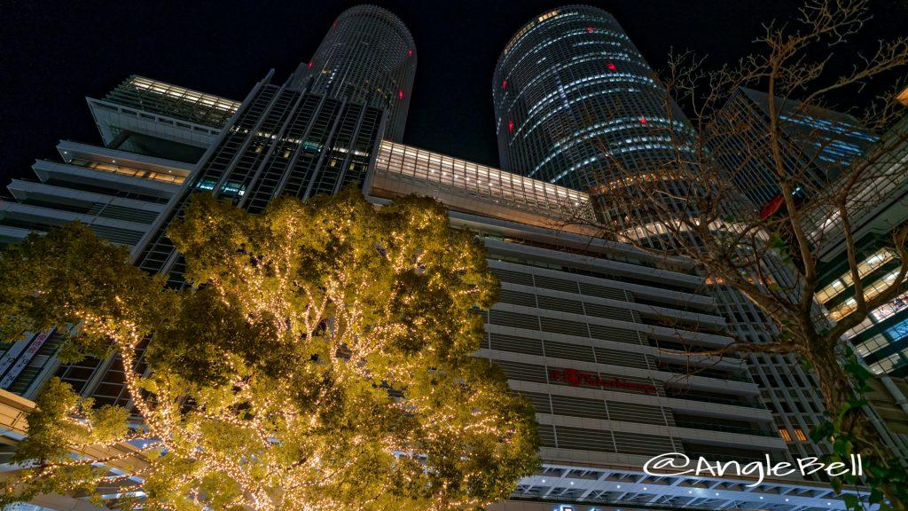 名古屋駅 ツインタワーとイルミネーション