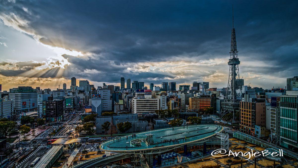 名古屋テレビ塔とオアシス21 February 2020