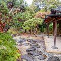 雨天 白鳥庭園 遊濱亭 March 2020
