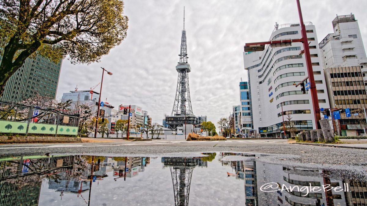 雨上がりの名古屋テレビ塔 春 2020