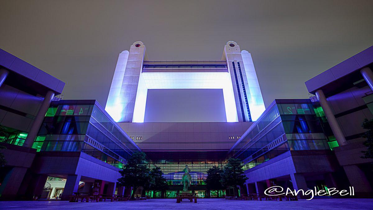 名古屋国際会議場 中庭  (ブルーライトアップ) May 2020