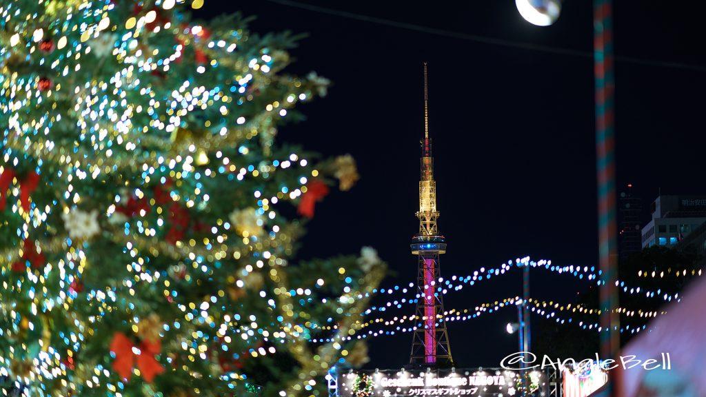 Christmas Market 2017とテレビ塔 レットライティング