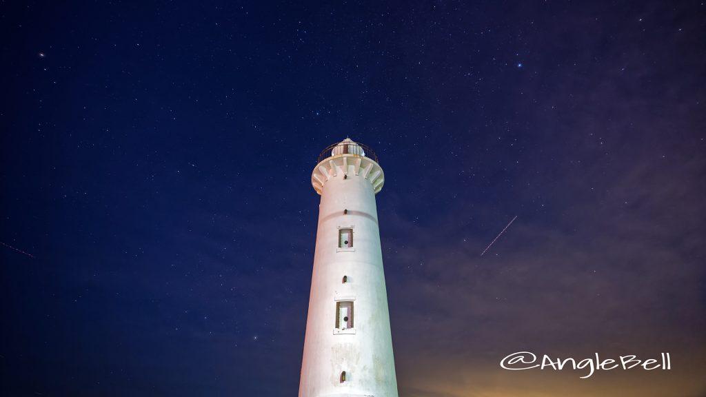 野間灯台 海側の夜景 Nov.2018
