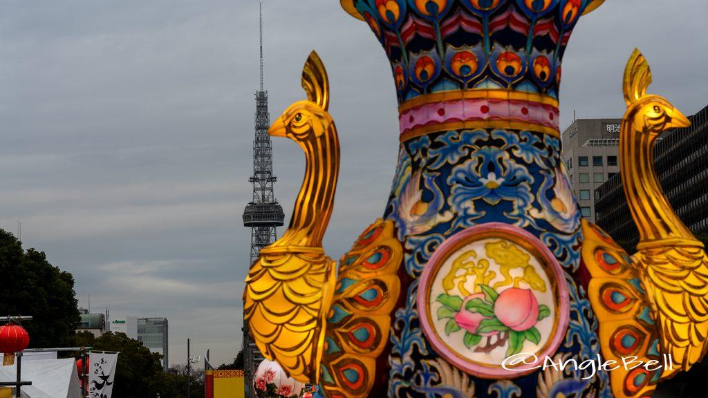 名古屋テレビ塔と名古屋中国春節祭 2019