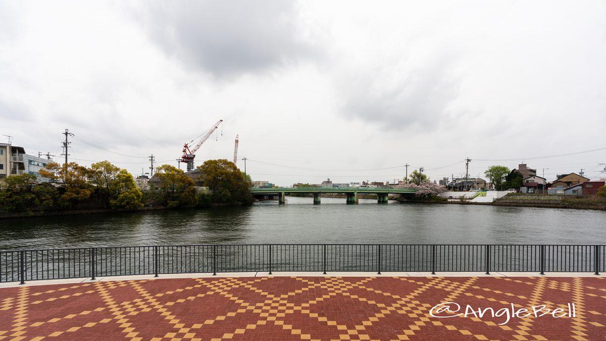 広見憩いの杜 中川運河と小栗橋