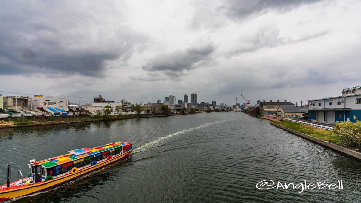 中川運河(長良橋)とクルーズ名古屋