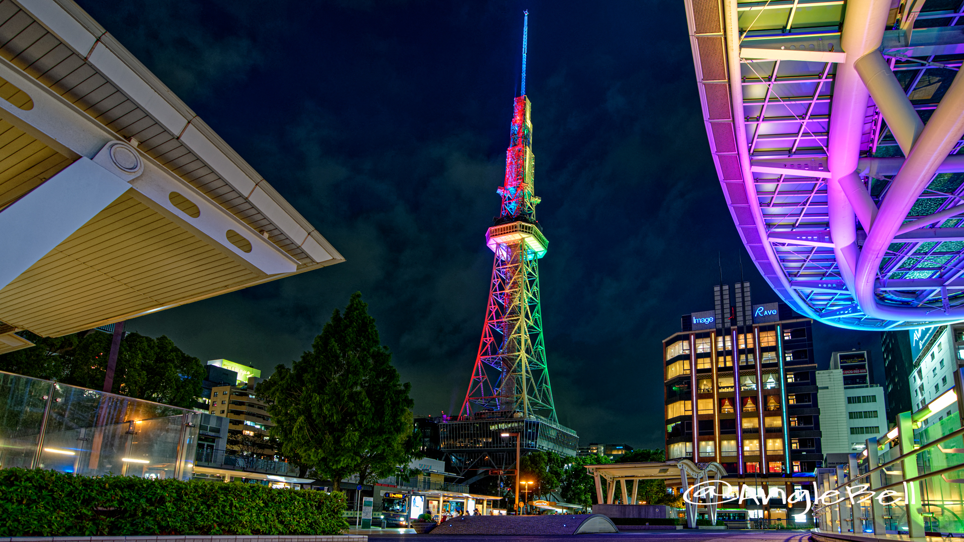 名古屋テレビ塔 ライトアップ July 2020