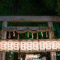 栄広小路通り 朝日神社