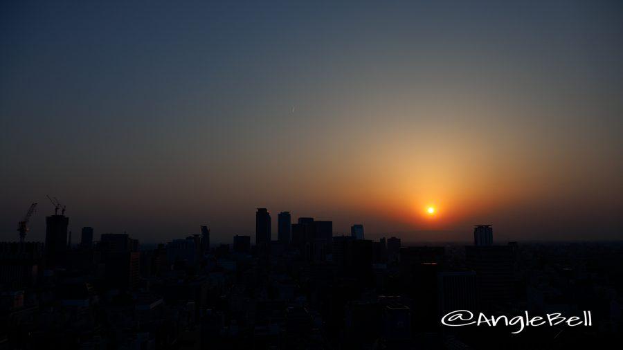 Sunset in Nagoya May 2017